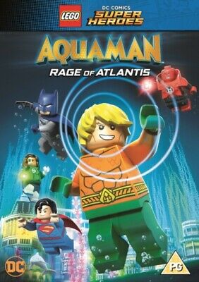 LEGO Aquaman - Rage of Atlantis (DVD, 2018) *NEW/SEALED* FREE P&P