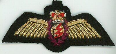 Full Sized Canadian Armed Forces Air Force Navigators Uniform Wings Badge