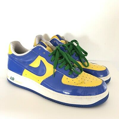 low priced 76f23 2c9ef Nike Air Force 1 Premium 309096-441 Brazil World Cup 2005 Size 12 FIFA  Soccer