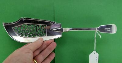 Antique Sterling Silver Fish Server Fiddle Pattern Charles Lias London 1838 13 ""