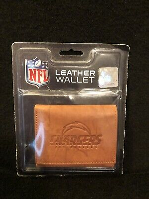 Hot LOS ANGELES CHARGERS Leather Men Wallet Jack Mason NFL Licensed  for sale