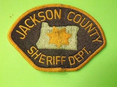 JACKSON COUNTY OREGON Sheriff Patch (Old Style) Police