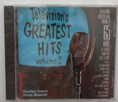 """""""Television's Greatest Hits, Volume II"""", Trivia Booklet, 65-Track CD 50's & 60's"""