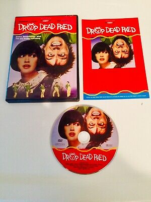 ❗️DROP DEAD FRED DVD (1991) - Region 1 USA - Phoebe Cates -Rik Mayall RARE OOP❗️