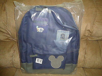 Disney Store 30Th Anniversary Pin Trading Backpack Brand New No Pins Included