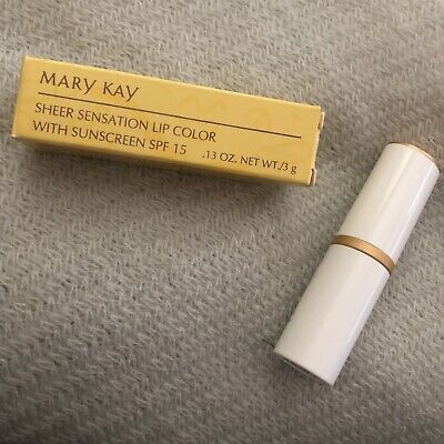 MARY KAY Sheer Sensation Lip Color UPBEAT BEIGE #3588 - BRAND NEW - RARE!