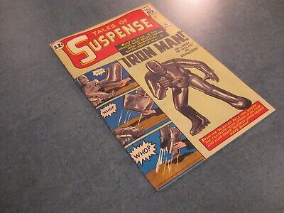 Facsimile reprint covers only to TALES OF SUSPENSE 39, FIRST APPEARANCE IRON MAN
