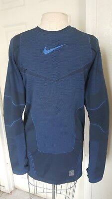 30eb2ab31b04  150 New Men s Nike Pro Hyperwarm Max Compression Shirt Men s Sz Xl  700873-451