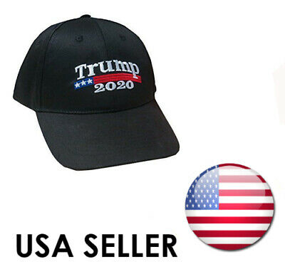 TRUMP 2020 MAGA Election Make America Great Again Hat Donald Trump Cap Black US