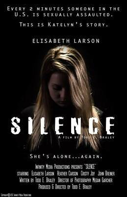 Silence the Movie | Drama Based on True Events (DVD,2019) NEW Release