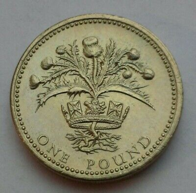 GREAT BRITAIN, UK 1 Pound 1985  KM#941  One Dollar Coin