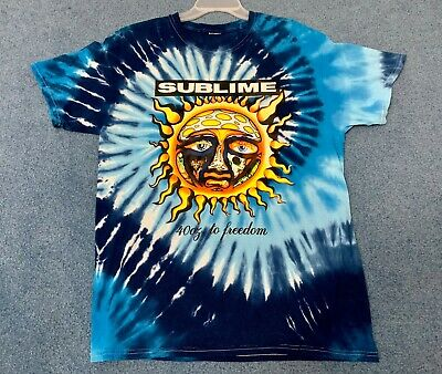 d3ba633ee Sublime 40oz To Freedom Men's T-Shirt Short Sleeve 100% Cotton Shirt Large