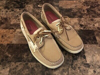 3630af40f6c SPERRY TOP-SIDER BLUEFISH 2-Eye (Women's) Tan Boat Shoe Size US 6.5 ...