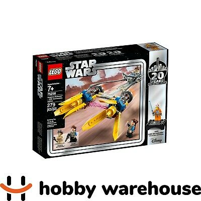LEGO 75258 Star Wars Anakin's Podracer - 20th Anniversary Edition (BRAND NEW)