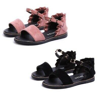 Girls Summer Soft Shoes Sweet Cute Sandals Kids Fashion Party Shoes With Rivets