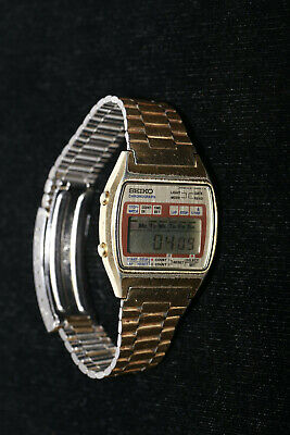 Vintage SEIKO Chronograph A127-5020 T - Brand New Battery Installed