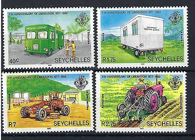 Seychelles 1982 Anniv.of Liberation SG 533 / 6 MNH + sheet POST FREE TO THE UK,