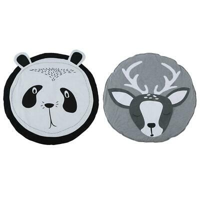Deer/Panda Super Soft Baby Kids Game Beach Mat Play Crawling Carpet Blanket