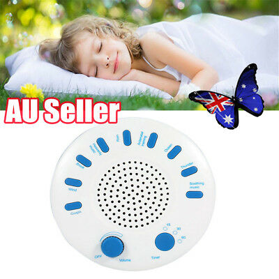 Relax Machine Deep Sleep Solution Noise Nature Peace Therapy WIth 9 Sounds EA