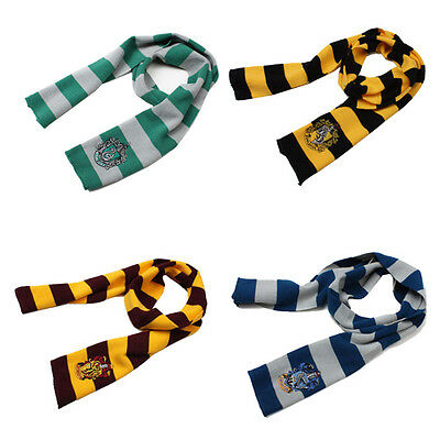 Harry Potter Gryffindor House Scarf Cosplay Costume Accessory Toy Gift