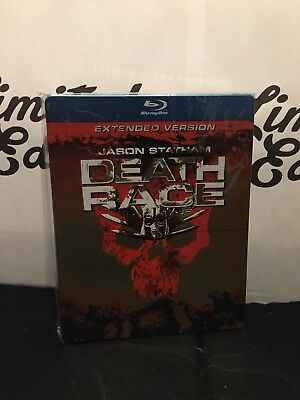 DEATH RACE -blu ray-steelbook-limited edition-embossed-1° print-Extended