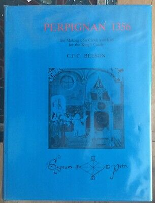 BOOK: Perpignan 1356: The Making of a Clock and Bell for the King's Castle HB/DJ