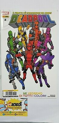 9772239249901 Deadpool 62/3 Marvel Italia Panini Comics Fumetto Nuovo