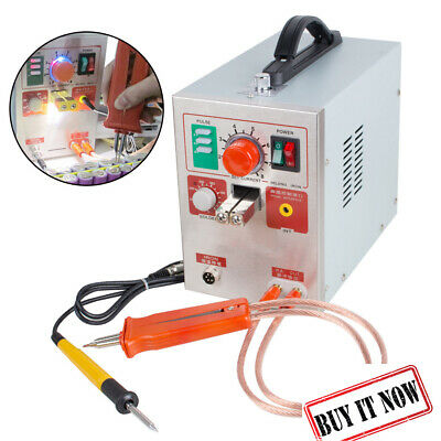 High Quality 60A 2 in 1 Pulse Battery Spot Welder Soldering Weld Machine 709A
