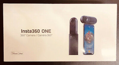(Brand New) Insta360 One 360 degree 4K Action Camera Bundle For iPhones / iPads