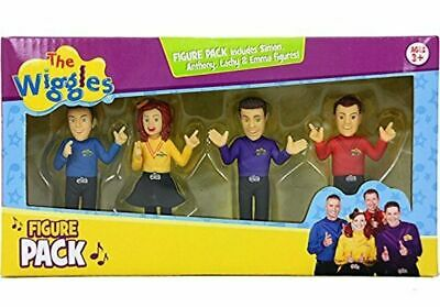 The Wiggles, 4-Figure Pack Set [Anthony, Emma, Lachy, and Simon]