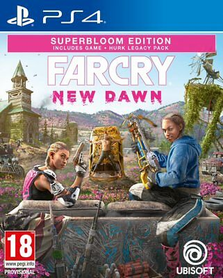 Far Cry New Dawn Superbloom Edition  PS4  PAL &  preorder Bonus  In stock Now !!