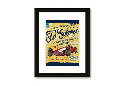 Old School 17765 Framed Print