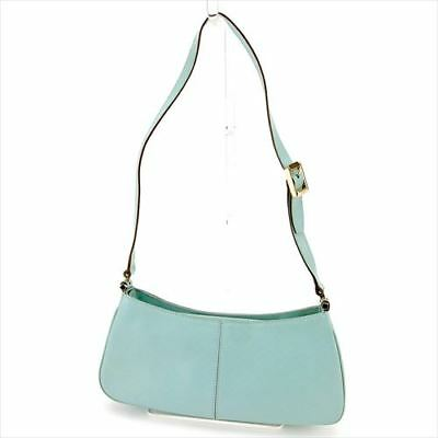 a343bcdca909 Gucci Shoulder bag G logos Blue Woman unisex Authentic Used T5818
