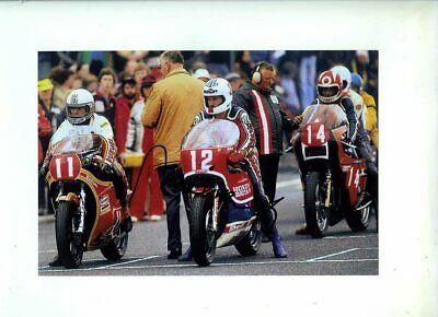 Mick Grant Honda Winner Formula One TT Isle of Man 1980 Signed Photograph