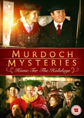 Murdoch Mysteries: Home for the Holidays (DVD, 2017) *NEW/SEALED* FREE P&P