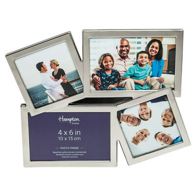 Accent 4 Aperture Nickel Plate Photo Frame ACC3694A