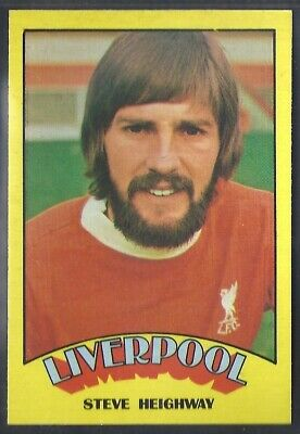 A&Bc-Football 1974 Red Back Rub Coin-#079- Liverpool - Steve Heighway