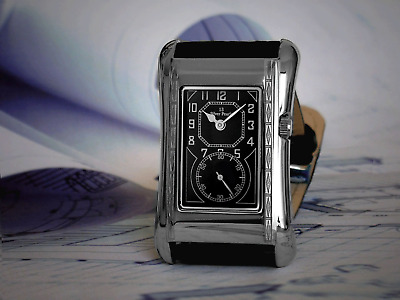 Prince Brancard Doctors Tiger Stripe Duo Dial 13 Silver Pearls on Black Ltd Edt