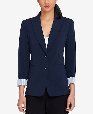 Tahari ASL Peak-Collar Blazer MSRP $129 Size 4 # 5C 817 NEW