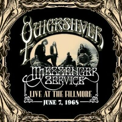 Quicksilver Messenger Service - Live At The Fillmore June 7 1968 (2 Disc) CD NEW