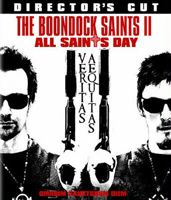 The Boondock Saints 2: All Saints Day (Directors Cut) BLU-RAY NEW