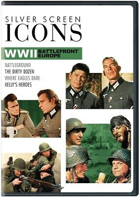 Silver Screen Icons: WWII: Battlefront Europe (4 Disc) DVD NEW