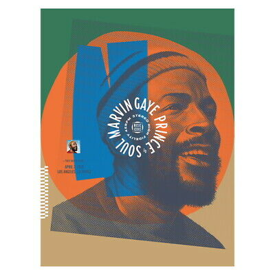 USPS New Marvin Gaye Poster Screen Print