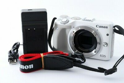 Canon EOS M3 24.0MP Mirrorless Digital Camera Body White from Japan [Very good]