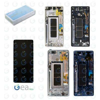SAMSUNG Display LCD ORIGINALE Touch + Frame Per Galaxy Note 8 N950 SERVICE PACK