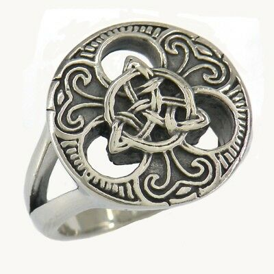 STAINLESS STEEL Trinity Celtic Knot Ring