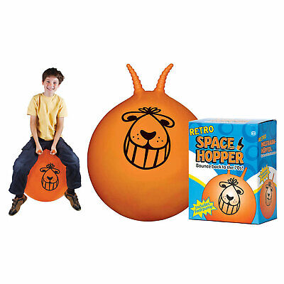 Tobar 08826 Large 60cm Retro Space Hopper Ball - Orange