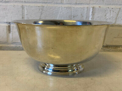 Tiffany & Co. Sterling Silver 23618 Revere Style Center Bowl