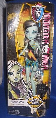 Monster High Frankie Stein Gloom Beach Collector Doll, Nrfb