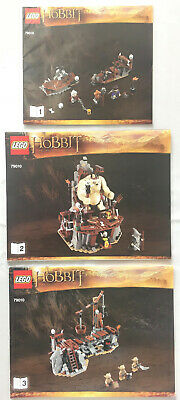 LEGO The Goblin King LOTR Instruction Booklets ONLY for Set 79010 NEW 3 Books
